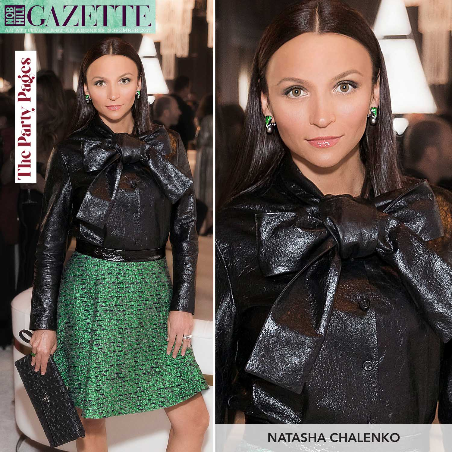 Natasha Chalenko Style Director Nob Hill Gazette San Francisco