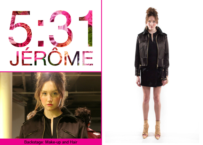 New York Fashion Week: Kaitlyn Tapp in 5:31 JÉRÔME FW14 collection presentation