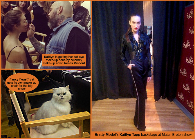 Model's Life: Kaitlyn Tapp's backstage report from Malan Breton show